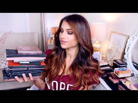 MAKEUP PALETTE COLLECTION! | Drugstore & High End