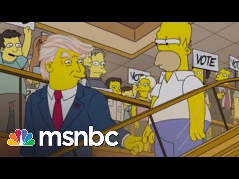 Homer Has A 'Trumptastic Voyage' On 'The Simpsons' | msnbc