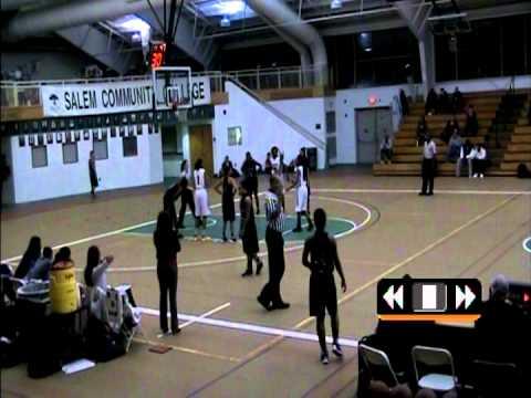 Salem Community College vs Harcum College 12/5/13 pt 1