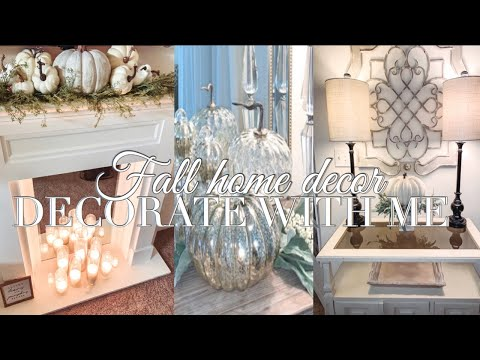 Fall Decor 2019   DECORATE WITH ME