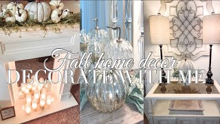 Fall Decor 2019 | DECORATE WITH ME