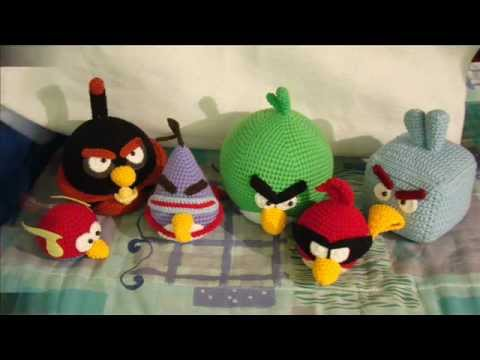 Angry Bird Amigurumi Patron : Angry Birds Space Amigurumi - YouTube