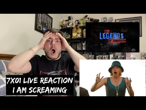 Download Legends Of Tomorrow - 7x01 'The Bullet Blondes' LIVE REACTION
