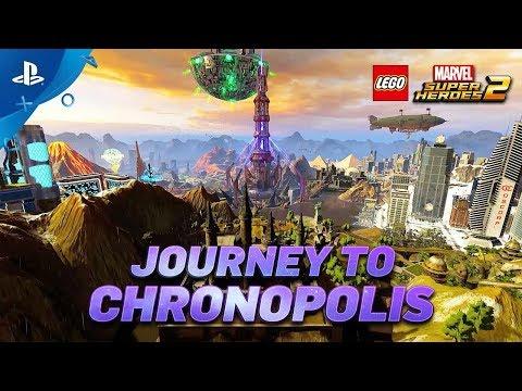 LEGO® Marvel Super Heroes 2 – Gamescom Chronopolis Trailer   PS4