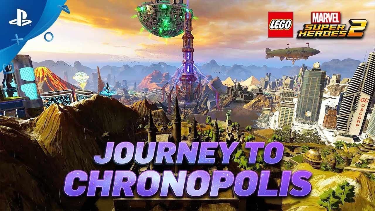 LEGO® Marvel Super Heroes 2 – Gamescom Chronopolis Trailer | PS4