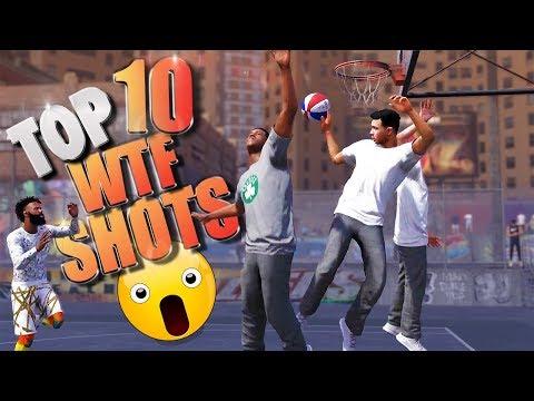 TOP 10 UNINTENTIONAL SHOTS - NBA 2K18 Highlights & Funny Moments