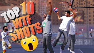 TOP 10 UNINTENTIONAL SHOTS - NBA 2K18 Highlights & Funny Moments