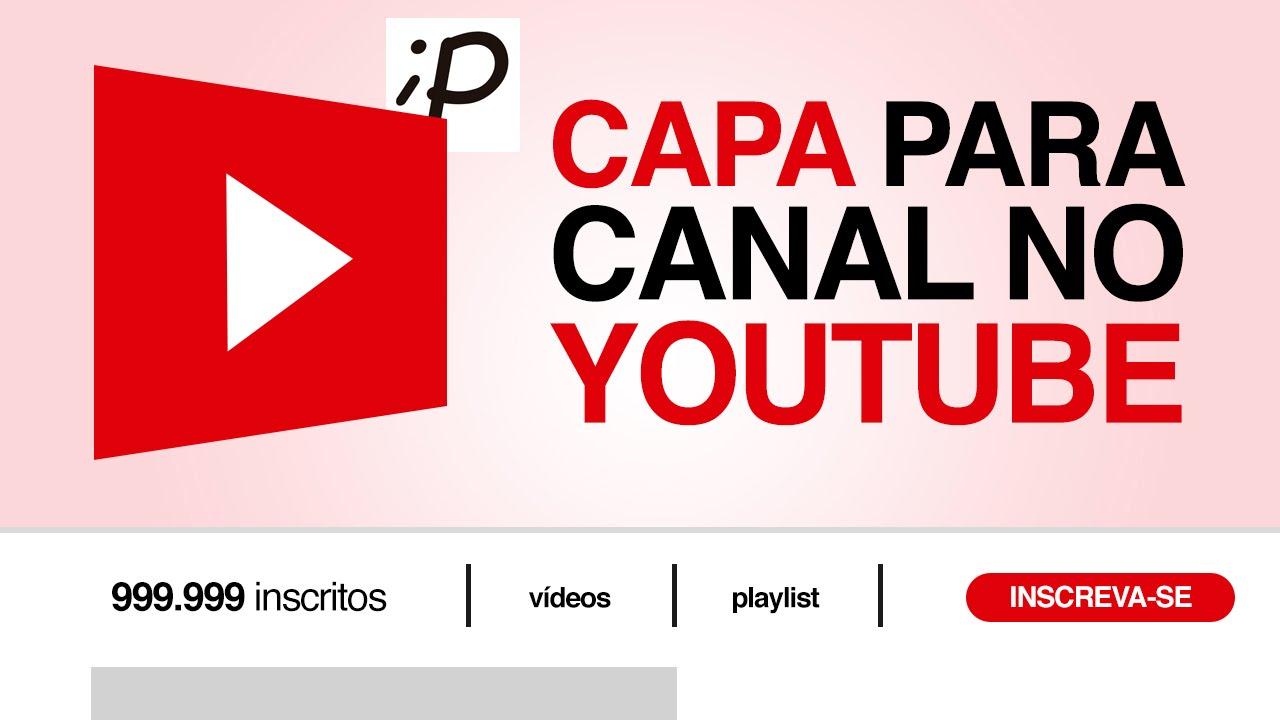 Capa De Youtube 2048x1152: Tutorial Photoshop: Banner / Capa Para Canal No Youtube