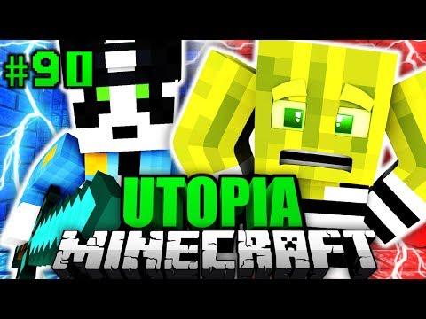 GESPRÄCH mit DER POLIZEI?! - Minecraft Utopia #090 [Deutsch/HD]