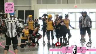 Roller Derby: WFTDA 2012 North Central Region Playoffs - Detroit vs. Chicago Outfit