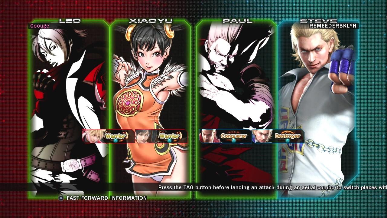 481 Tekken Tag Tournament 2 Coouge Leo Xioayu Vs Remeederbklyn Paul Steve Youtube