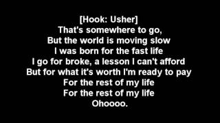 Ludacris Rest Of My Life Lyrics, ft Usher, David Guetta.mp4