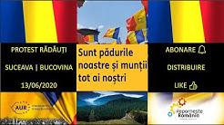 #Protest la #Rădăuți pentru păduri.| Unde-s #TVR|#Digi24|#B1TV|#RealitateaTV|#Antena3|#RTV|#ProTV?