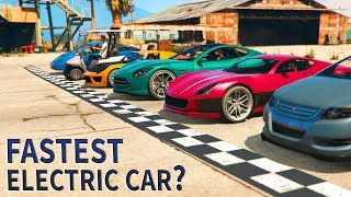 GTA V - Which Electric car is Fastest?