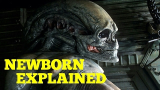 Newborn Xenomorph - Explained Alien Resurrection