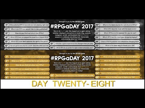 RPGaDay 2017: Day 28 - OoC Quotations