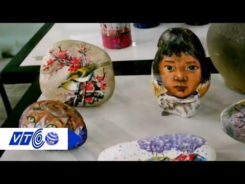 Sinh động nghệ thuật vẽ 3D trên đá cuội | VTC