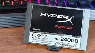 НУЖЕН ЛИ SSD В 2019 ГОДУ? HyperX Fury 3D