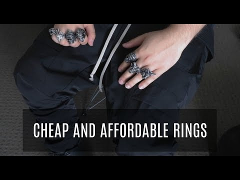 THE BEST RINGS ON A BUDGET + GIVEAWAY! | Men's Fashion | VerdugoVibes