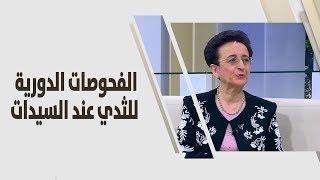 د. امل الصمادي - الفحوصات الدورية للثدي عند السيدات