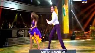 DWTS -  Season 3- Episode 2  رقص النجوم - الموسم الثالث - نتيجة التصويت - خروج  جان قنصل