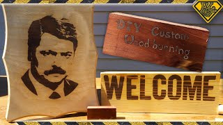 Burn Pictures Into Wood