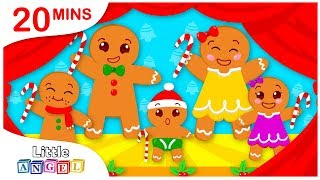 Gingerbread Family, Rudolph Lost his Red Nose, Christmas Carols and Nursery Rhymes by Little Angel