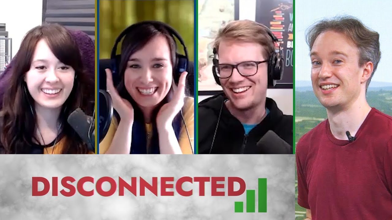 DISCONNECTED with Jaiden Animations, Ellen Rose and Hank Green