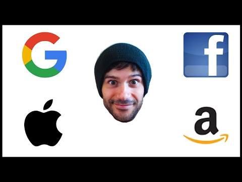 Les GAFA : Google, Apple, Facebook, Amazon
