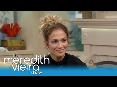 Jennifer Lopez Shares Her Unsexy Mom Moments   The Meredith Vieira Show