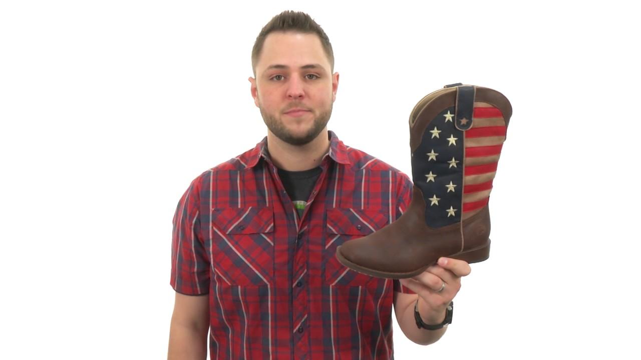 3e4cdec4005 Roper Kids American Patriot (Big Kid) SKU:8863818