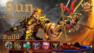 Mobile Legends: Sun MVP, Tanky Fighter Build! Seems Good!