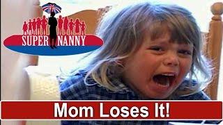 Mum Loses It At Screaming Kids | Supernanny