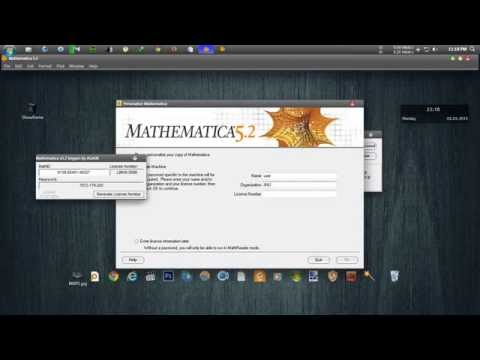 How to install Mathematica v5.2 with download link for windows