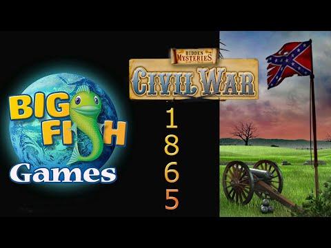 Mac Games | HIDDEN MYSTERIES: Civil War Level 5 - 1865 - Big Fish Games | American Civil War |