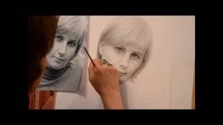 Результат процесса обучения портрету, уроки портрета для начинающих