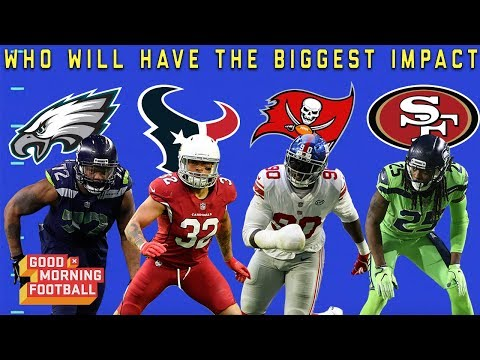 Which Defensive Player with a New Team will Have the Biggest Impact? | NFL Network