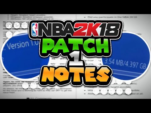 *NEW* NBA 2K18 PATCH 1.02 DROPPED!!|PATCH NOTES|+GET YOUR PLAYER BACK AND 35,000 FREE VC|MUST WATCH