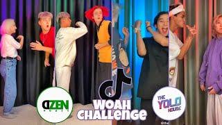 Woah Challenge - Dżen House And Yolo House | TikTok Compilation | Part 1