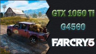 Far Cry 5 (GTX 1050 Ti 4GB + Pentium G4560) 1080p, 900p e 768p Benchmarks