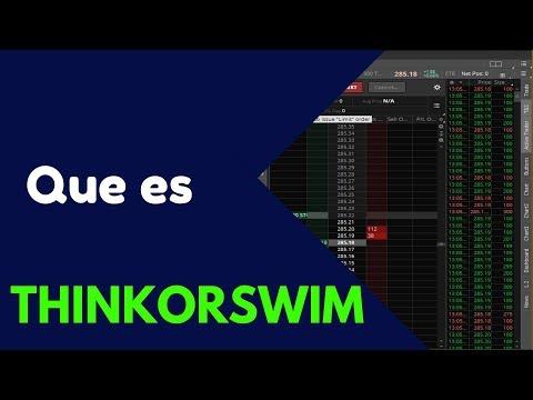 Que es THINKORSWIM en español| Introducción Broker para trading en esta plataforma | Td Ameritrade