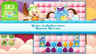 Candy Crush Jelly Saga Level 879 (2nd version, No boosters)