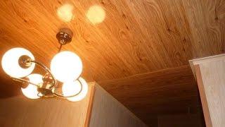 видео Как сделать потолок из панелей: основные этапы работы