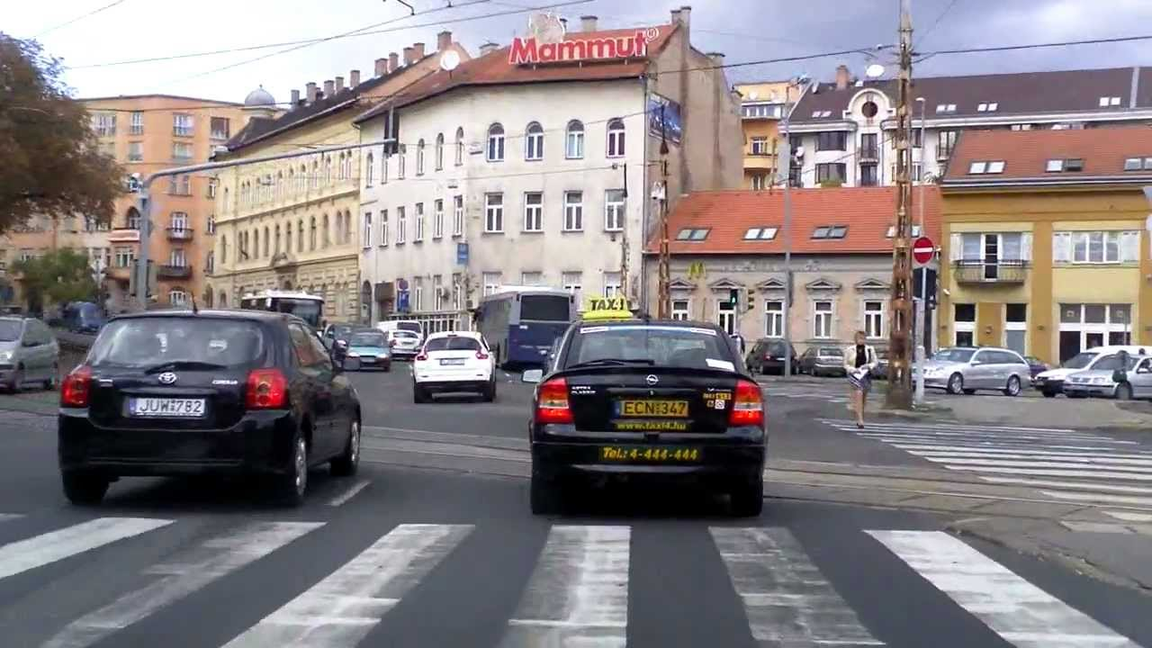 Budapest: Zugló - Pasarét /real time version/