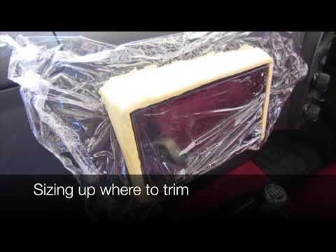Honda S2000 Make Custom Car Stereo Fascia Bezel Using Acrylic Polymer