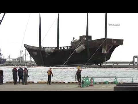 """Ghost Ships"" Full Of Bodies Washing Ashore In Japan"