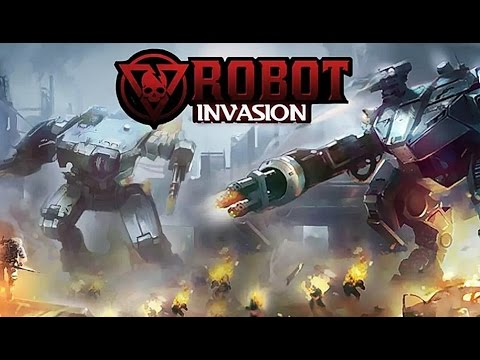 Robot Invasion - Android Gameplay HD
