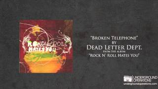 Dead Letter Dept. - Broken Telephone