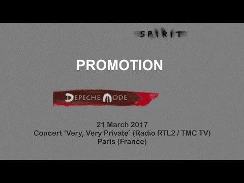 "21.03.2017 Concert ""Very, Very Private"" (Radio RTL2 / TMC TV) Paris (France) audio stereo"