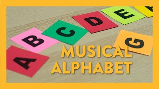 Musical Alphabet - Piano Lesson 3 - Hoffman Academy